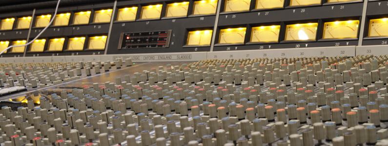 SSL 4000 E Mixing Console at Trypoul