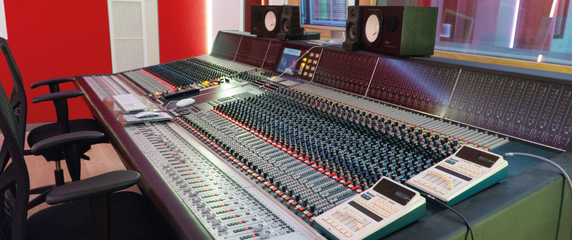 Neve 88RS Console at Trypoul