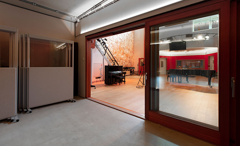 Stone room at Trypoul Recording Studios
