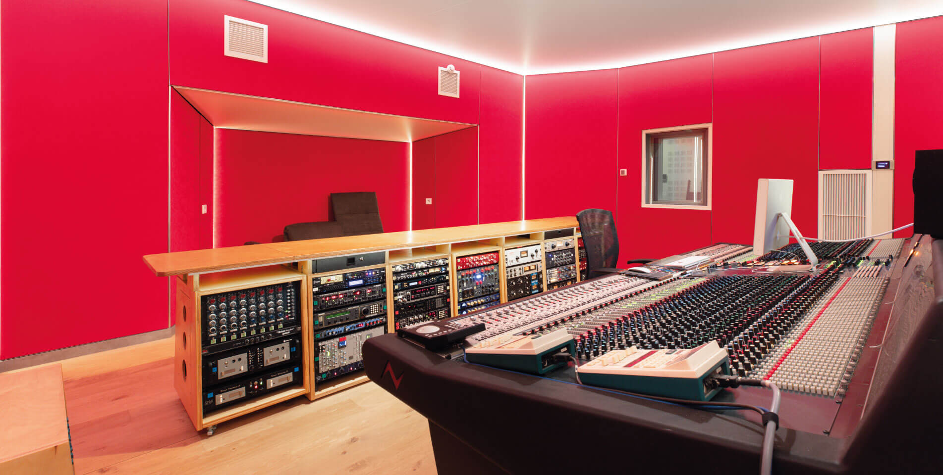 Neve 88RS Console at Trypoul Recording Studios